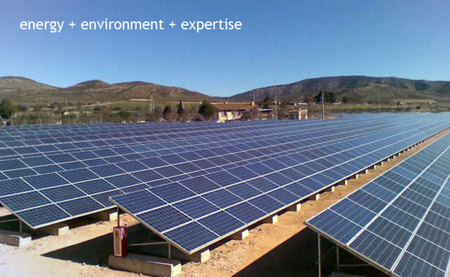 Oregon's Largest Solar installation in Christmas Valley