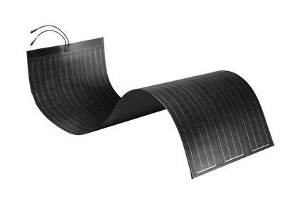 SoloPower Flexible CIGS solar module.