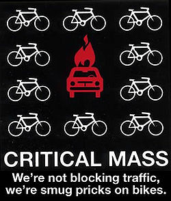 Critical mass smug pricks on bikes.jpg