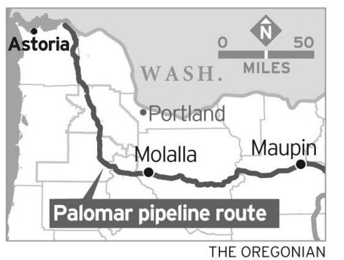 Proposed Palomar pipeline.