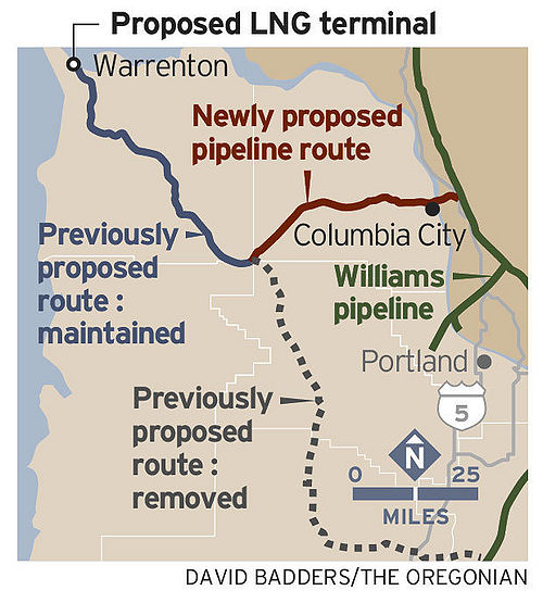 New proposal for Astoria LNG Pipeline